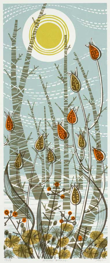 Angie_Lewin_winter_birches