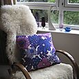BoldPurple-vintage-cushion