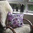 Purple-floral-vintage-cushi