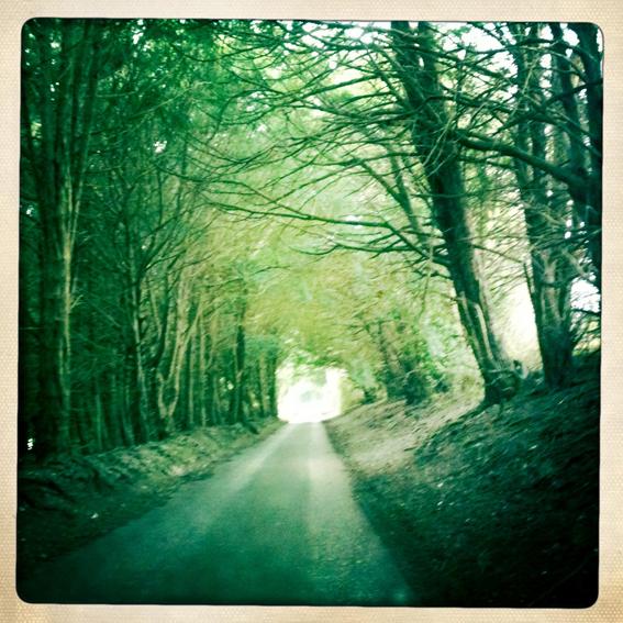 Emmalovesretro Hampshire lane